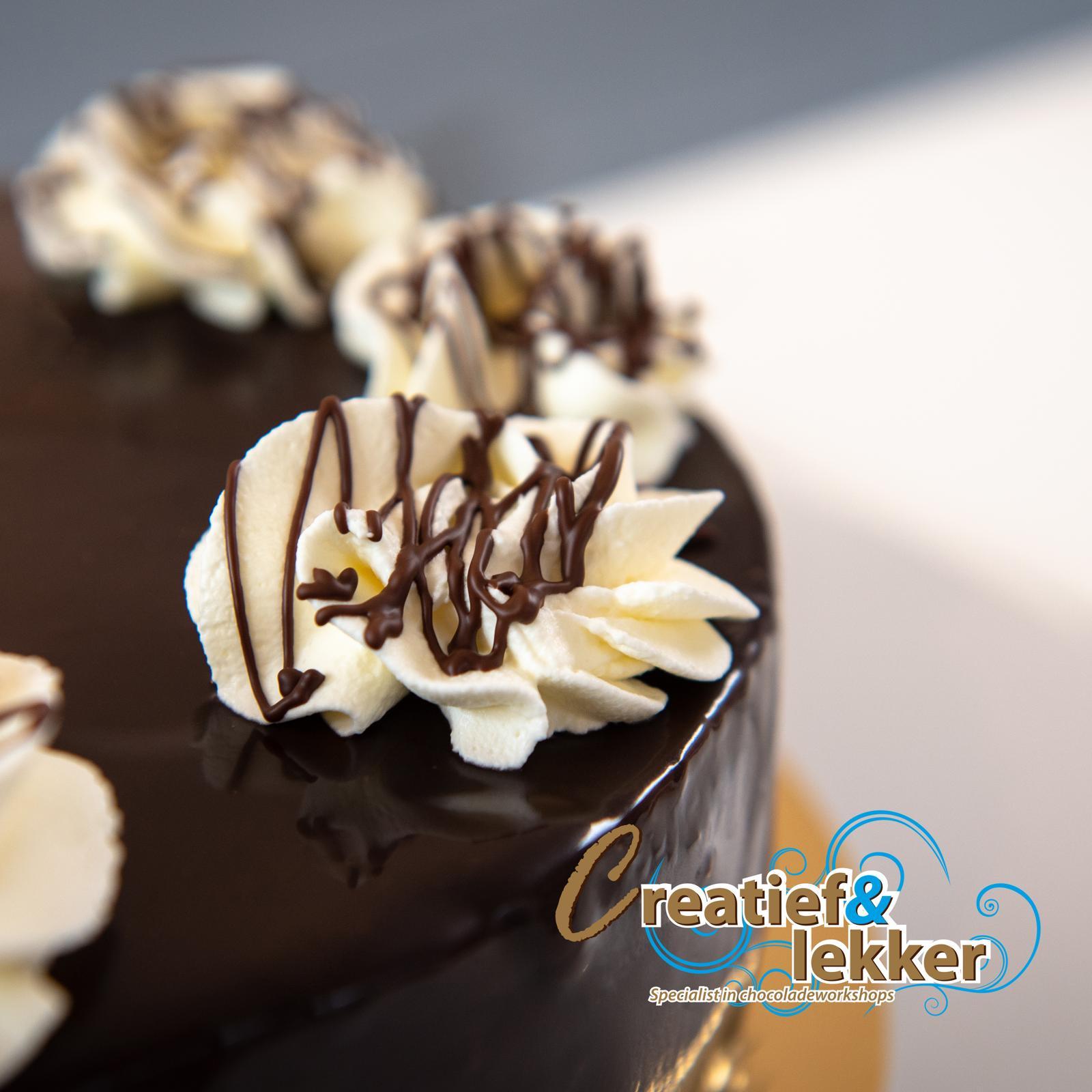 Recept chocolade taart met kersen