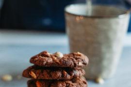recept-Drie Chocolade Koekjes