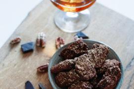 recept- Pecan truffels met Prosecco en Cognac